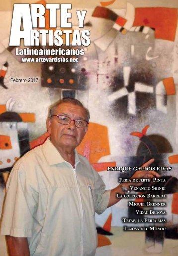 Revista Arte y Artistas Edicion febrero 2017