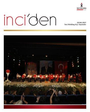 OCAK 2017 İnci Holding A.Ş Yayınıdır