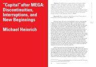 New Beginnings Michael Heinrich