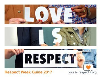 Respect Week Guide 2017