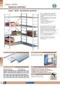 Hygiënische rekstellingen Linum® LN150 / LN250 - Page 2