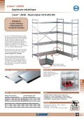 Hygiënische rekstellingen Linum® LN150 / LN250 - Page 3