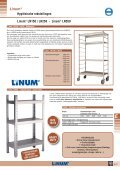 Hygiënische rekstellingen Linum® LN150 / LN250 - Page 5
