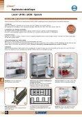 Hygiënische rekstellingen Linum® LN150 / LN250 - Page 6