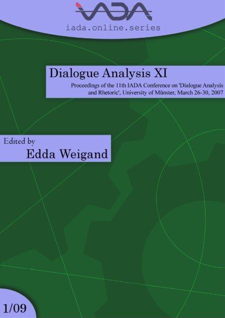 Pan Down International Association For Dialogue Analysis