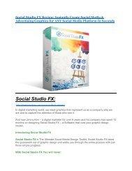 Social Studio FX Review and $30000 Bonus - Social Studio FX 80% DISCOUNT