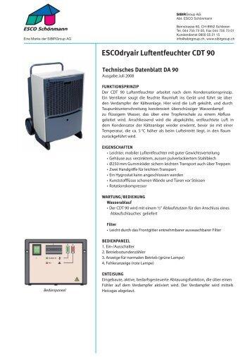 CDT 90 Professional-Line - Sibir