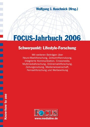 FOCUS-Jahrbuch 2006 - FOCUS MediaLine