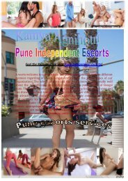 Hot Pune Call Girl Escorts services Agency - www.kamyaagnihotri.co.in