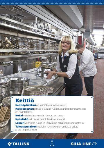 Töissä merillä: Keittötoiminnot 2017