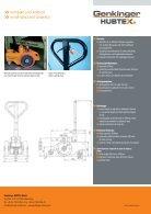 Prospekt Serie HR25, PDF 2.1 MB - Genkinger-HUBTEX GmbH - Page 2