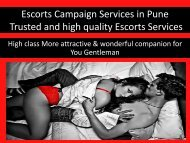 World class Pune female campaign services by shikha shirivastav