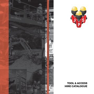 TOOL & ACCESS HIRE CATALOGUE