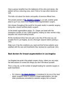 Breast Augmentation in Los Angeles - Page 3