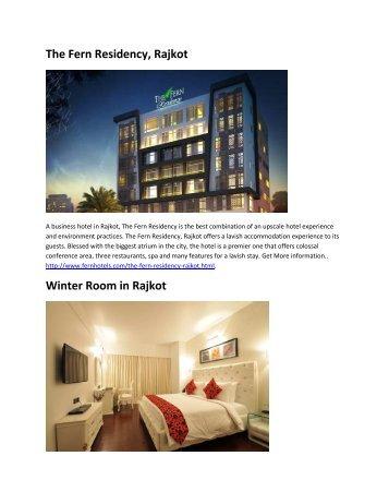 The Fern Residency, Rajkot