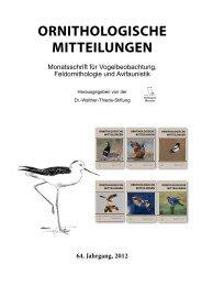 Ornithologische-Mitteilungen-Jahresregister-Band64-2012