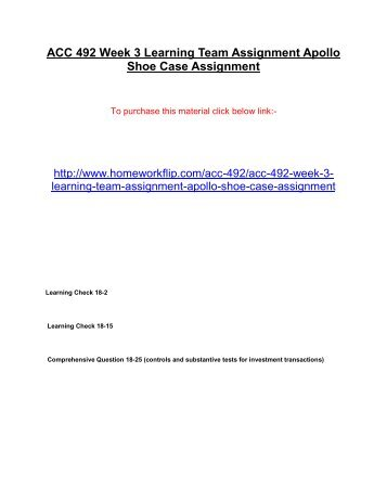 week 4 assignment team case analysisles Eth 321 week 4 team assignment environmental law case study newpurpose of assignment the purpose of this assignment is to discuss the reasons for regulatory agencies and ethical considerations regarding regulatory compliance.