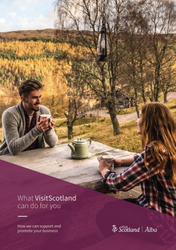 What VisitScotland can do for you