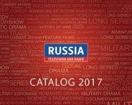 Catalog Sovtelexport 2017 Russia Television and Radio