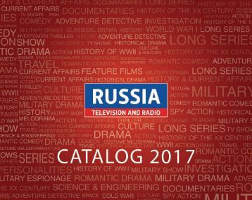 Catalog Sovtelexport 2017 Russia Television and Radio