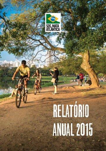 Relatória anual SOSMA 2015