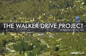 THE WALKER DRIVE PROJECT
