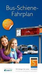 Bus-Schienenfahrplan gültig ab Nov 2011 - Saarbahn GmbH