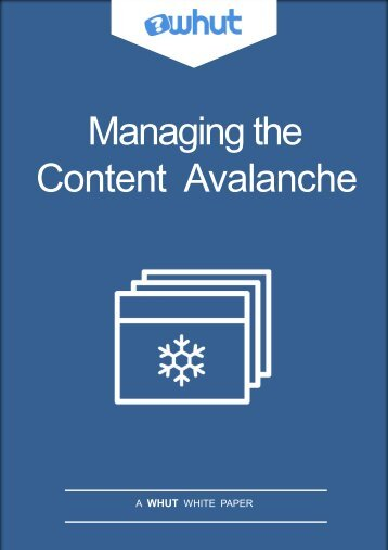 Content Avalanche