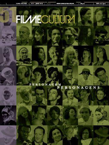 Personagens Personagens - Revista Filme Cultura - via: Ed. Alápis
