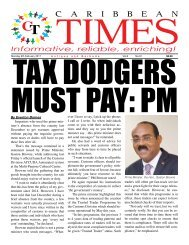 Caribbean Times 91st Issue - Monday 6th February 2017