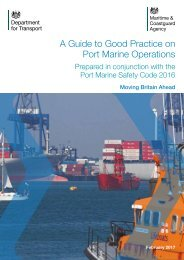 A Guide to Good Practice on Port Marine Operations