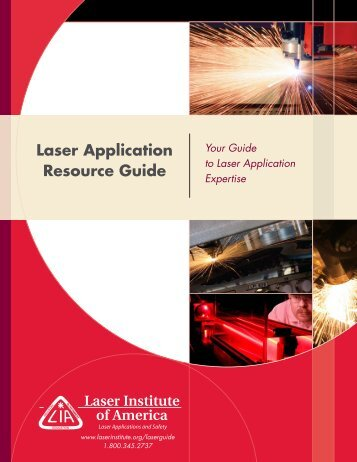 Laser Application Resource Guide