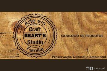 CATÁLOGO PRODUTOS BEART'S CRAFT STUDIO 2017.01