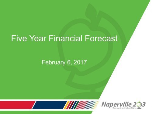 Five Year Financial Forecast