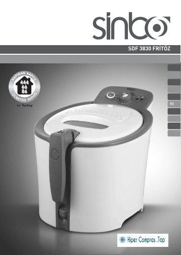 Manual SINBO_Freidora_SDF3830_hipercompras