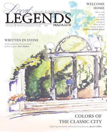 Local Legends Magazine | The Art & Design Issue