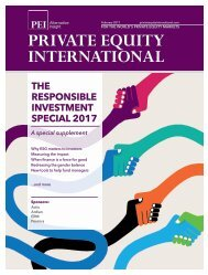 THE RESPONSIBLE INVESTMENT SPECIAL 2017