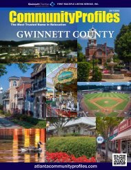 2017/2018 Gwinnett CommunityProfiles