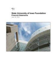 State University of Iowa Foundation