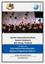 GIS IB  Handbook 2016-17