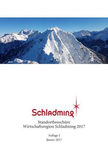 Standortbroschuere Schladming 2017