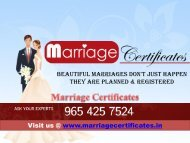 Arya Samaj Mandir Marriage Certificate