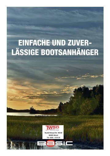 Katalog BASIC Bootstrailer 2017_TWSG