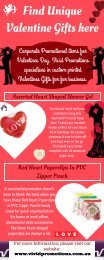 Promotional items for Valentines Day | Vivid Promotions
