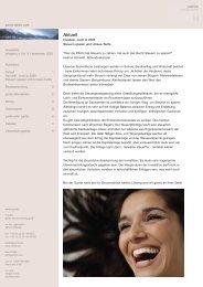 Ausgabe 8 - 12/2005 - Handeln jetzt - pards finanzcoaching GmbH