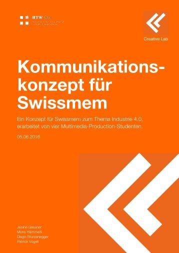 Swissmem Konzept Leseprobe