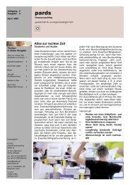 Ausgabe 4 - 04/2003 - Studenten und Azubis - pards finanzcoaching ...