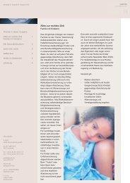 Ausgabe 8 - 08/2003 - Familien mit Kind(ern -  pards finanzcoaching ...