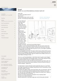 Ausgabe 2 -  05/2009 - Wirtschaftskrise - pards finanzcoaching GmbH