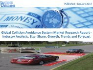 Collision Avoidance System Market Analysis Report and Forecasts 2015 to 2022